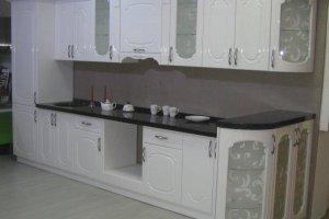 Кухня прямая с патиной Азалия - Мебельная фабрика «Люкс-С»