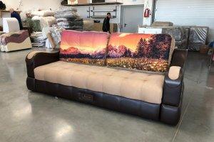 Прямой диван Милан 1 - Мебельная фабрика «Идеал»
