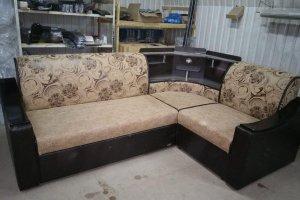 Угловой диван Палермо с баром - Мебельная фабрика «ГудВин»