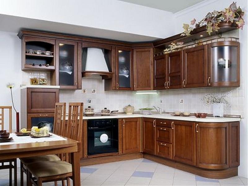 Кухня Екатерина массив