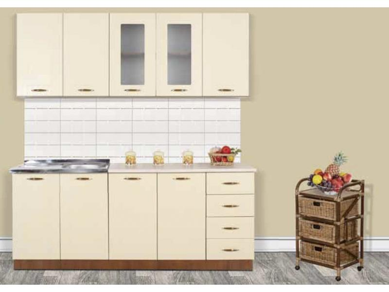 Кухонный гарнитур прямой Эрика