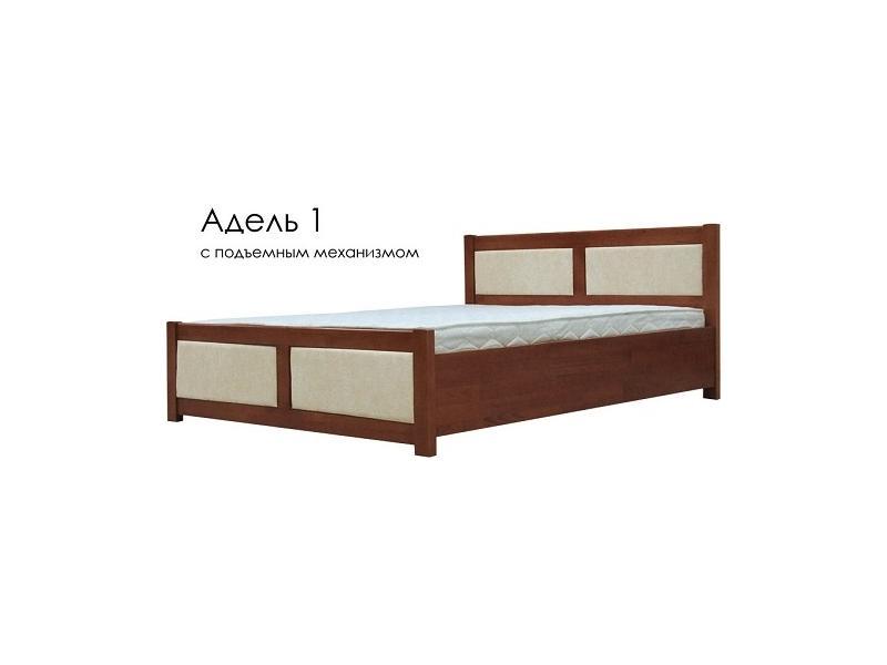 Кровать Адель 1 СПМ ЭкоКожа