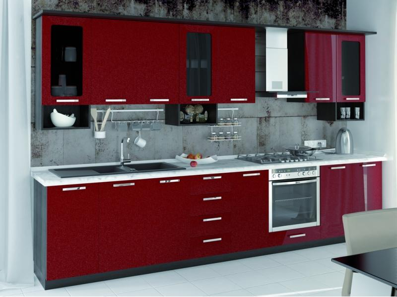 Кухонный гарнитур прямой Фиджи