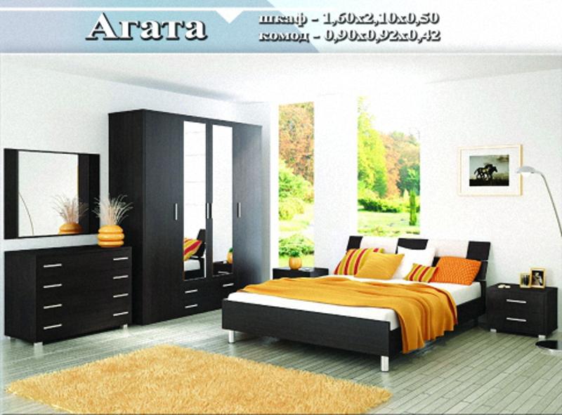 спальный гарнитур «Агата»