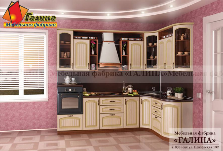 Кухонный Гарнитур Патина 006