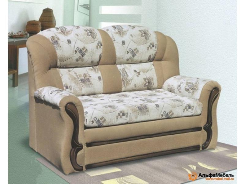 диван прямой Альфа 110 выкатной