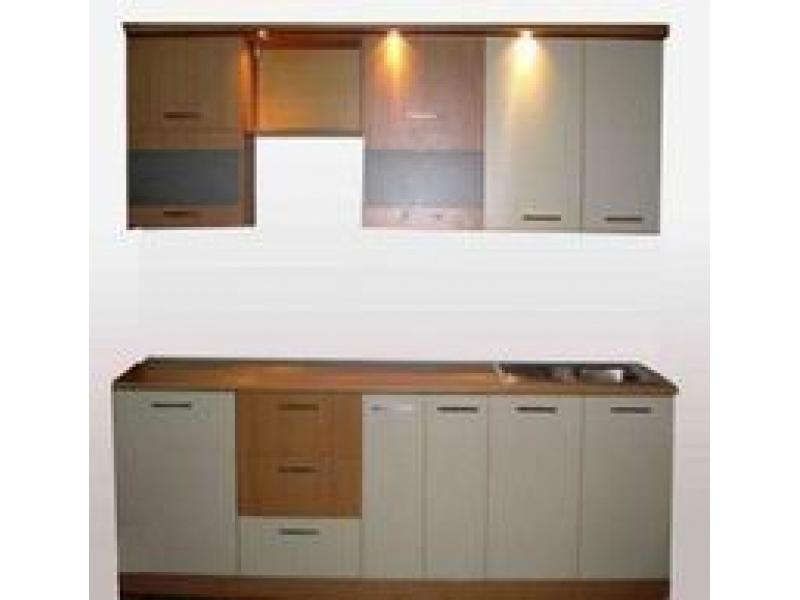 Кухонный гарнитур прямой Сканди