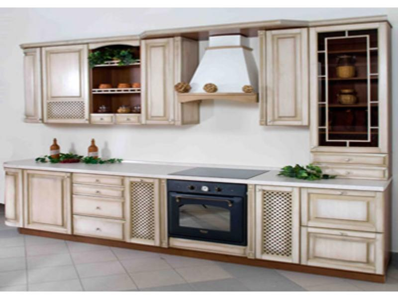 Кухня прямая Кантри 9