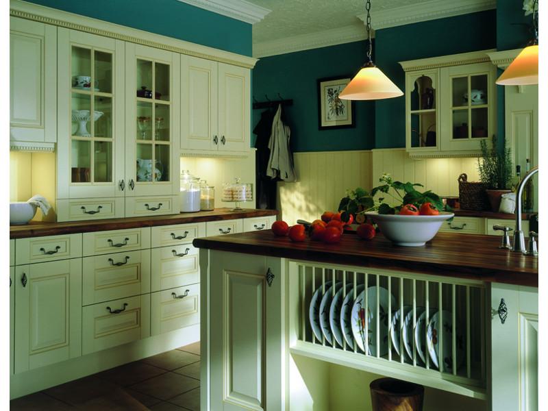 Кухня угловая Клара патина