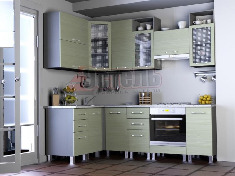 Кухонный гарнитур угловой Штрокс