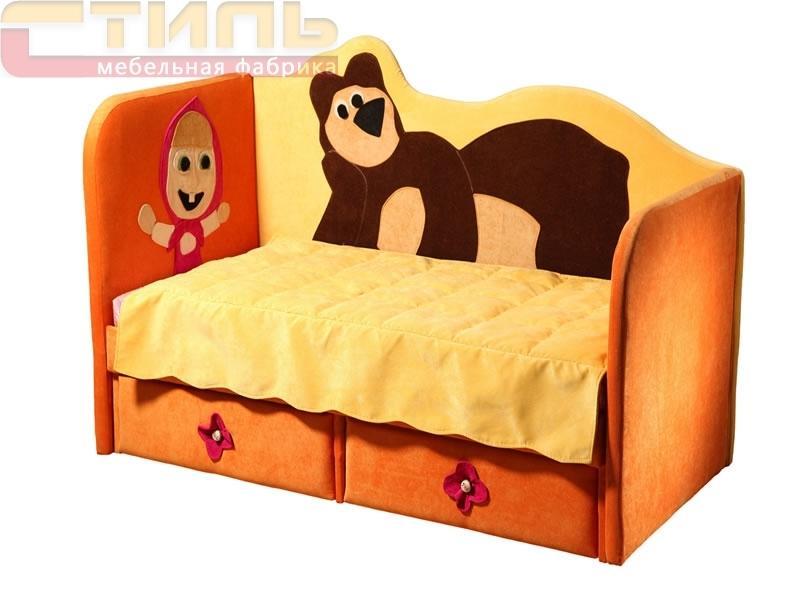 Кровать Маша и медведь