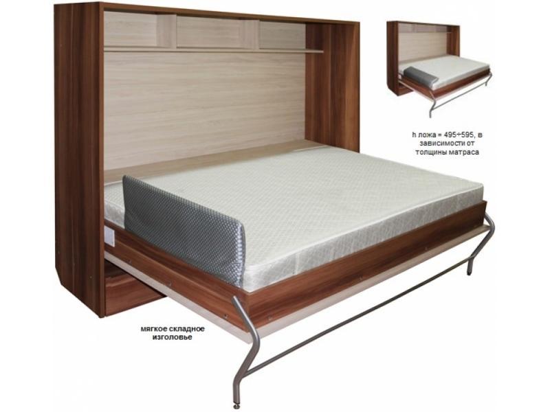 Кровать подъемная горизонтальная