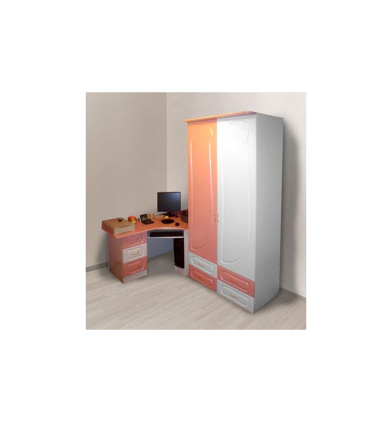 Набор корпусной мебели для детской комнаты «Фея»