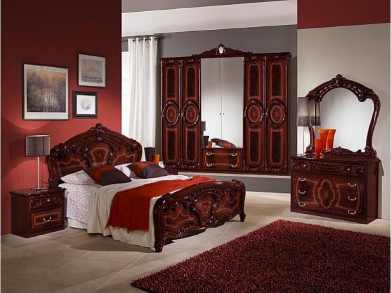 Спальный гарнитур «Амбра могано»