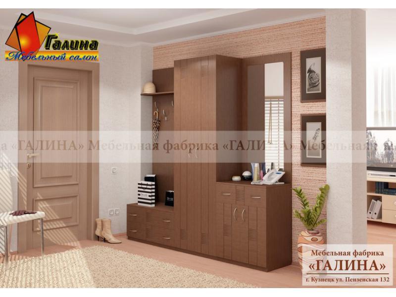 "Мебельная фабрика ""галина"", г. кузнецк / прихожая ""сильвия-2."