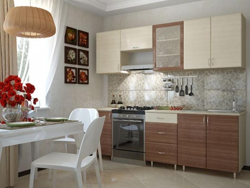 Кухонный гарнитур прямой Уют 2.4