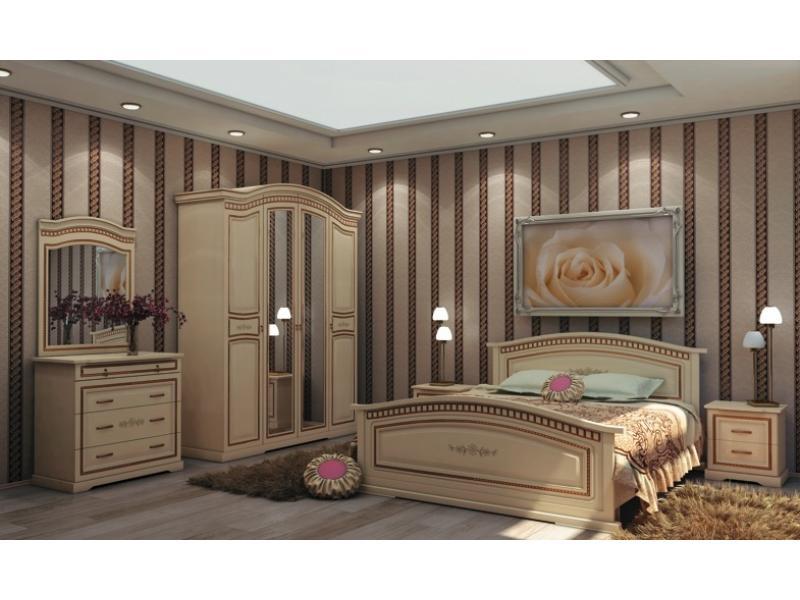 Спальный гарнитур Луиза ваниль