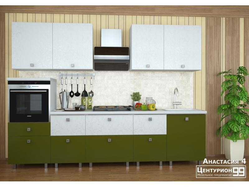 Кухонный гарнитур прямой Анастасия 4