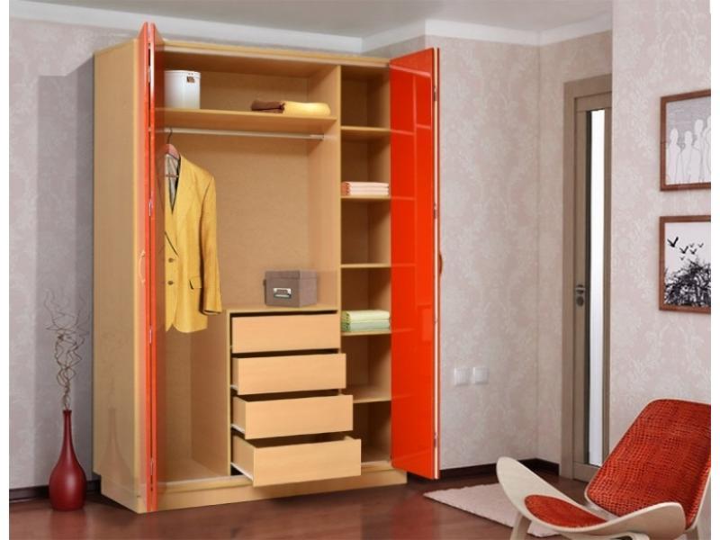 Шкаф-гармошка 4-х дверный
