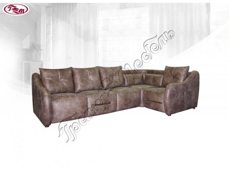 диван угловой Лекс 4Б тик-так
