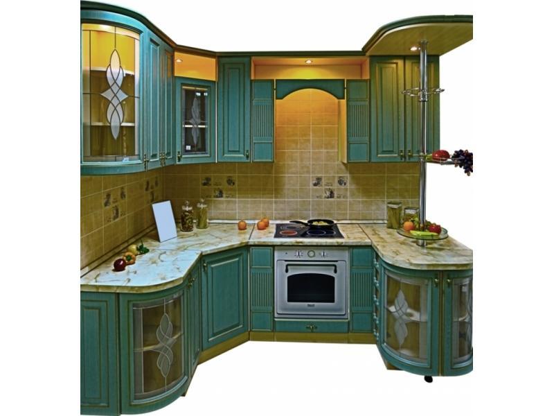 Кухня угловая Патина Кантри