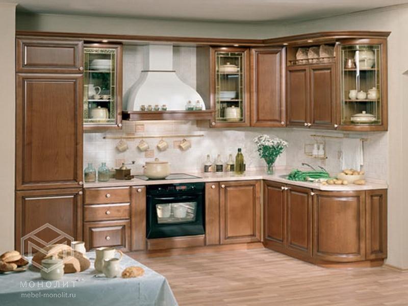 Кухонный гарнитур угловой Эхмея 1