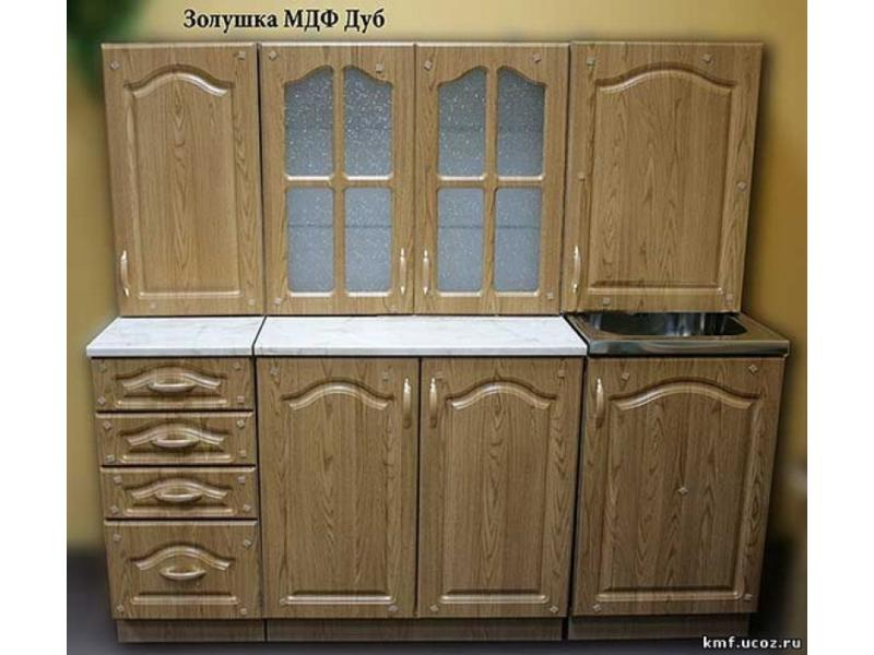 кухня Золушка МДФ  дуб