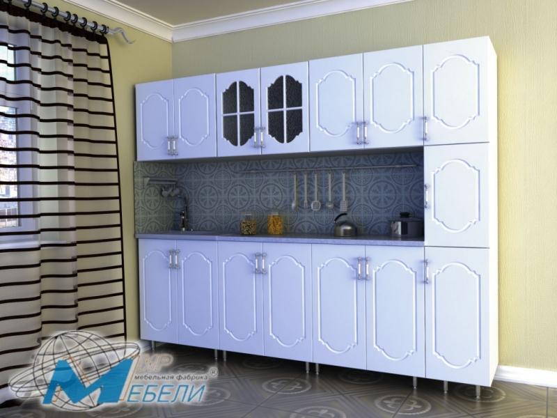 кухня прямая «Джин» МДФ