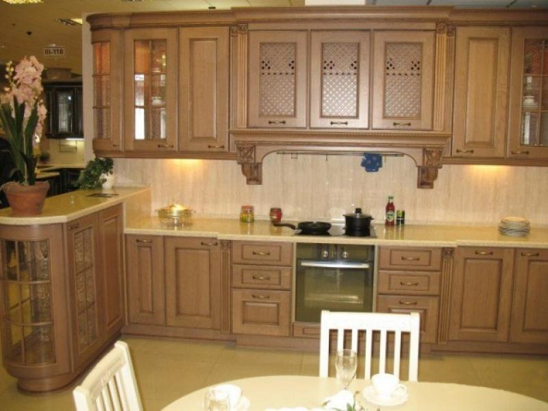 Кухонный гарнитур угловой Элегия