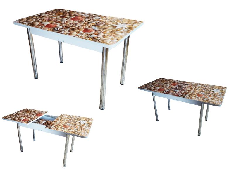 стол с фотопечатью раздвижной