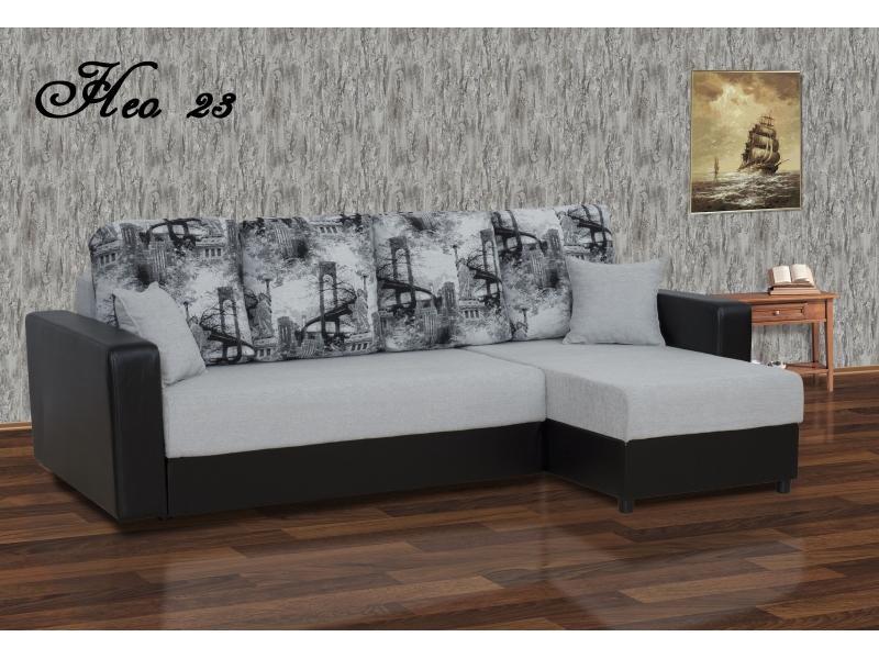 Угловой диван Нео 23 ДУ