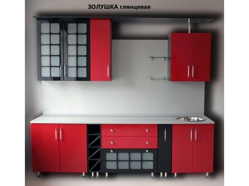 кухня Золушка крашеная с решетками