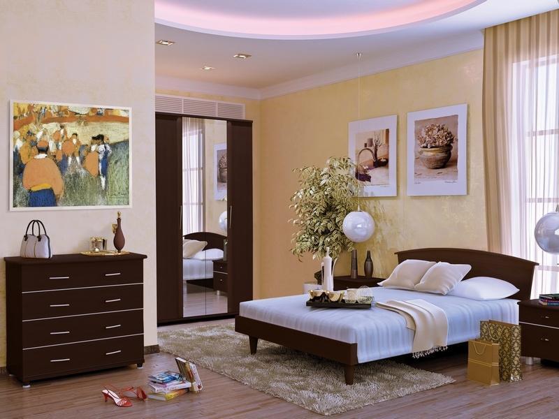 Спальный гарнитур Милан 1