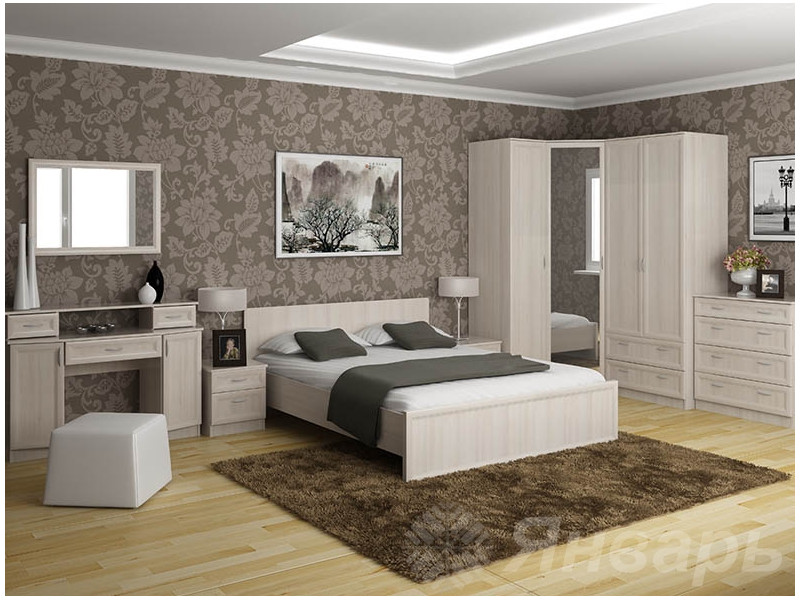 Спальный гарнитур Кураж