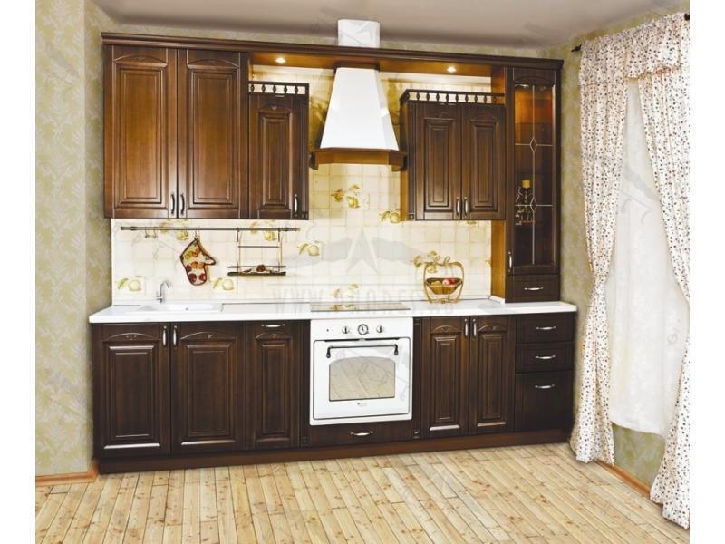 Кухонный гарнитур прямой СВ