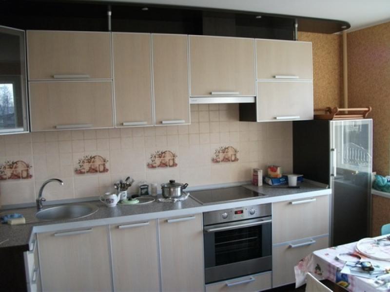 Кухня прямая 18