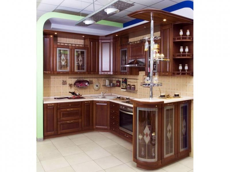 Кухня Парта массив