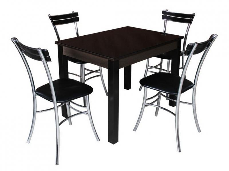 Обеденная зона BUONI-3 (стулья «Цезарь» 3д)