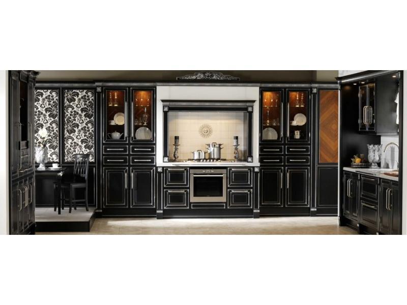 Кухонный гарнитур прямой Массив