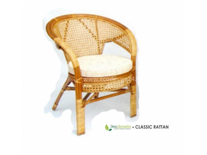 Кресло плетеное из ротанга Пеланги