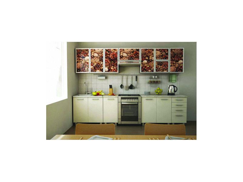 Кухонный гарнитур прямой Сабина