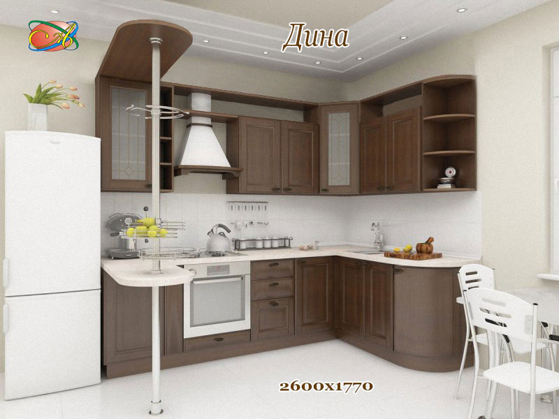 Кухня угловая «Дина»