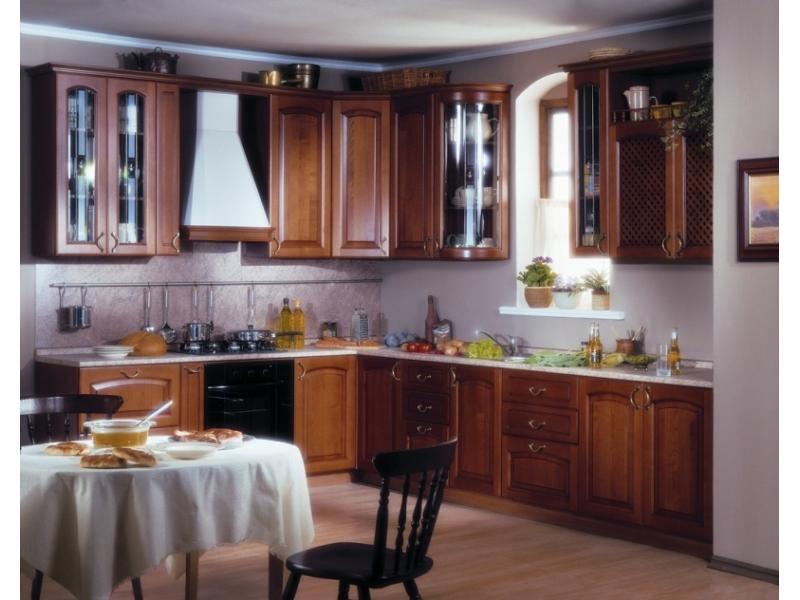 Кухонный гарнитур угловой CHIARA