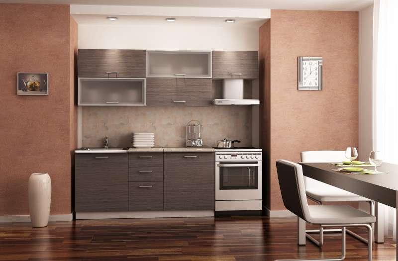 Кухонный гарнитур «Азалия Капучино»