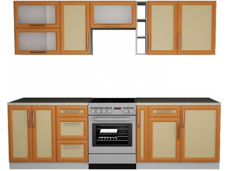 Кухонный гарнитур прямой Вера 4