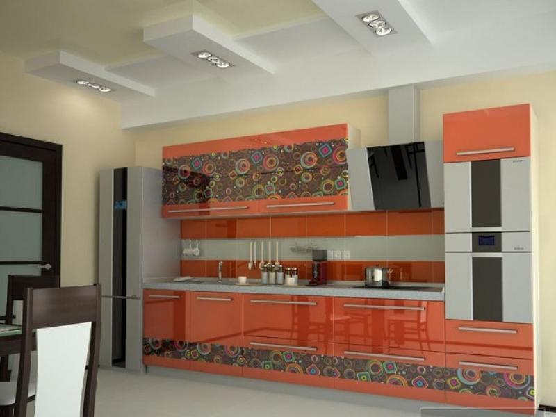 Кухонный гарнитур прямой Modern