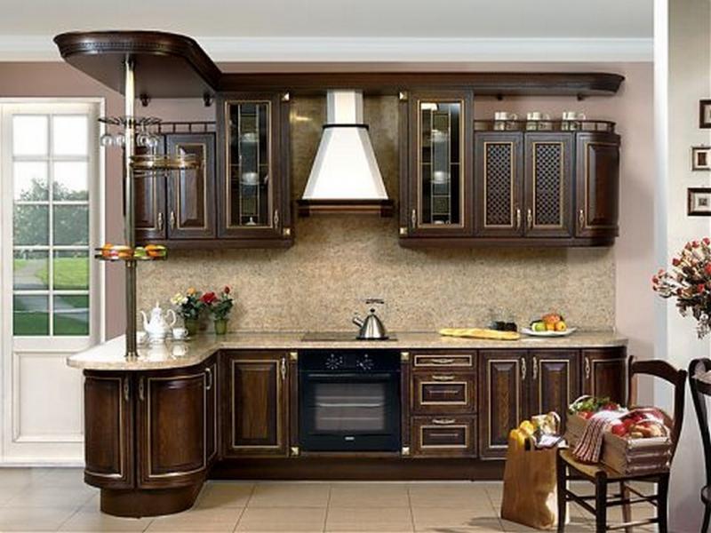 Кухня Карлеоне с патиной