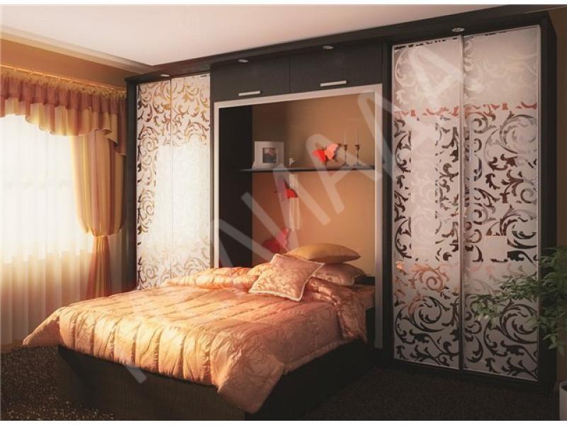 """Шкаф-купе в спальню 023 студия мебели """"мастер"""", уфа."""