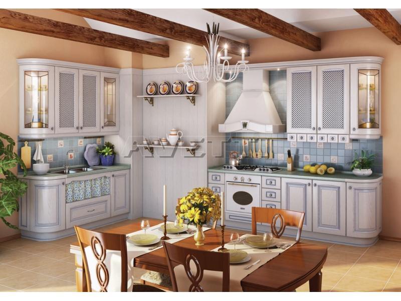 Кухня Искья голубая