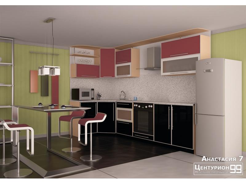 Кухонный гарнитур угловой Анастасия 7